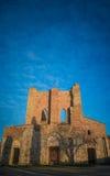 Abadía de San Galgano, Toscana Fotografía de archivo