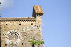 Abadía de San Galgano, Toscana, Italia Foto de archivo libre de regalías