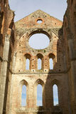 Abadía de San Galgano, Toscana, Italia Fotos de archivo libres de regalías