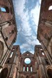 Abadía de San Galgano, Toscana, Italia Fotos de archivo