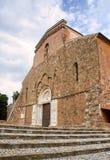 Abadía de San Giovanni en Venere en Fossacesia (Italia) Imagenes de archivo