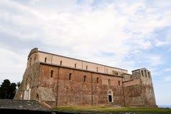 Abadía de San Giovanni en Venere en Fossacesia (Italia) Imagen de archivo