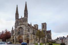 Abadía de San Martín, Laon, Francia Imágenes de archivo libres de regalías