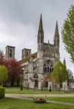 Abadía de San Martín, Laon, Francia Fotografía de archivo libre de regalías