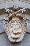 Abadía de San Martino al Cimino. Lazio. Italia. Fotos de archivo libres de regalías