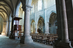 Abadía de San Martino al Cimino. Lazio. Italia. Fotografía de archivo libre de regalías