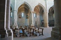 Abadía de San Martino al Cimino. Lazio. Italia. Imagen de archivo libre de regalías