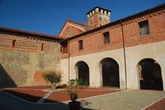 Abadía de San Nazzaro, Novara, Italia Foto de archivo libre de regalías