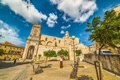 Abadía de San Nicola en Sassari Imagen de archivo libre de regalías