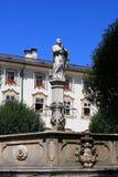 Abadía de San Pedro, Salzburg Imagen de archivo libre de regalías