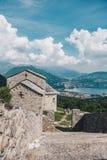 Abadía de San Pietro al Monte Imagen de archivo libre de regalías