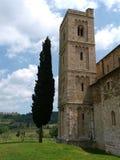 Abadía de Sant Antimo Fotografía de archivo