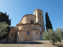 Abadía de Sant Antimo en Montalcino Fotos de archivo