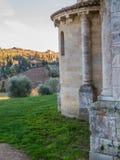 Abadía de Sant& x27; Antimo, Montalcino Fotografía de archivo libre de regalías