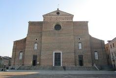 Abadía de Santa Giustina Imágenes de archivo libres de regalías