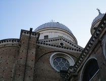 Abadía de Santa Giustina Fotografía de archivo libre de regalías