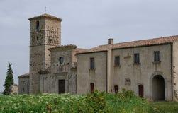 Abadía de Santa María de Casalpiano Imágenes de archivo libres de regalías