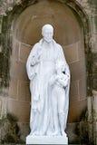 Abadía de Santa María de Montserrat Foto de archivo