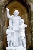 Abadía de Santa María de Montserrat Imagen de archivo libre de regalías