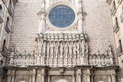 Abadía de Santa María de Montserrat Imágenes de archivo libres de regalías