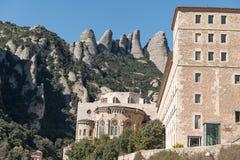 Abadía de Santa María de Montserrat Imagenes de archivo