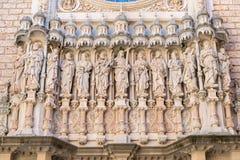 Abadía de Santa María de Montserrat Imagen de archivo