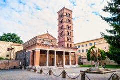 Abadía de Santa Maria en Grottaferrata Imagen de archivo libre de regalías