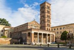 Abadía de Santa Maria en Grottaferrata, Italia Fotos de archivo libres de regalías