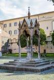 Abadía de Santa Maria en Grottaferrata, Italia Fotografía de archivo libre de regalías