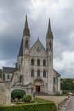 Abadía de Santo-Jorte, Boscherville, Francia Foto de archivo