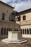 Abadía de Sassovivo, Foligno Imagenes de archivo