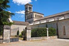 Abadía de Scala del della de Madonna. Noci. Puglia. Italia. Imágenes de archivo libres de regalías