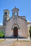 Abadía de Scala del della de Madonna. Noci. Puglia. Italia. Fotografía de archivo libre de regalías