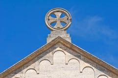 Abadía de Scala del della de Madonna. Noci. Puglia. Italia. Imagenes de archivo