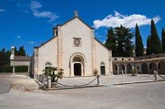 Abadía de Scala del della de Madonna. Noci. Puglia. Italia. Foto de archivo