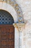 Abadía de Scala del della de Madonna. Noci. Puglia. Italia. Fotos de archivo
