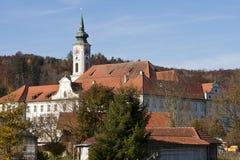 Abadía de Schaeftlarn, Bav Imagenes de archivo