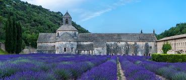 Abadía de Semanque, Francia Imagen de archivo libre de regalías