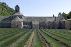 Abadía de Senanque Fotografía de archivo libre de regalías