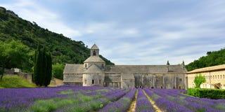 Abadía de Senanque Imagen de archivo libre de regalías