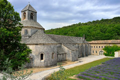 Abadía de Senanque Foto de archivo libre de regalías