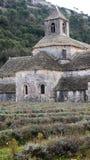 Abadía de Senanque cerca de Gordes, Francia Fotografía de archivo libre de regalías