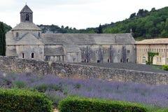 Abadía de Senanque en Provence, Francia Imagenes de archivo