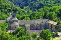 Abadía de Senanque, Francia Foto de archivo libre de regalías