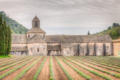 Abadía de Senanque, Francia Imagenes de archivo