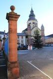 Abadía de Senones, Alsacia Fotografía de archivo