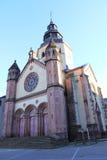 Abadía de Senones, Alsacia Foto de archivo