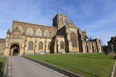 Abadía de Sherborne Fotografía de archivo libre de regalías