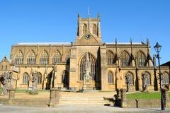 Abadía de Sherborne Foto de archivo libre de regalías