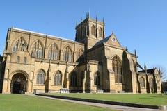 Abadía de Sherborne Imagenes de archivo